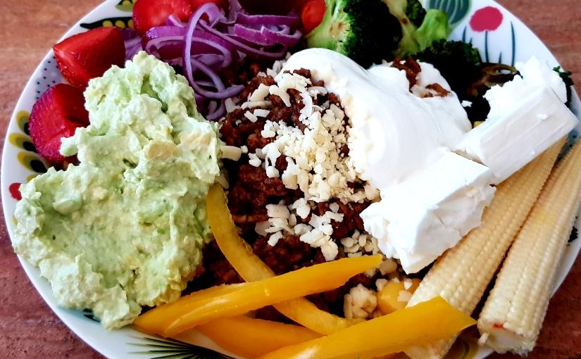 Tacos, på mitt vis och nedräkning tillsemestern.