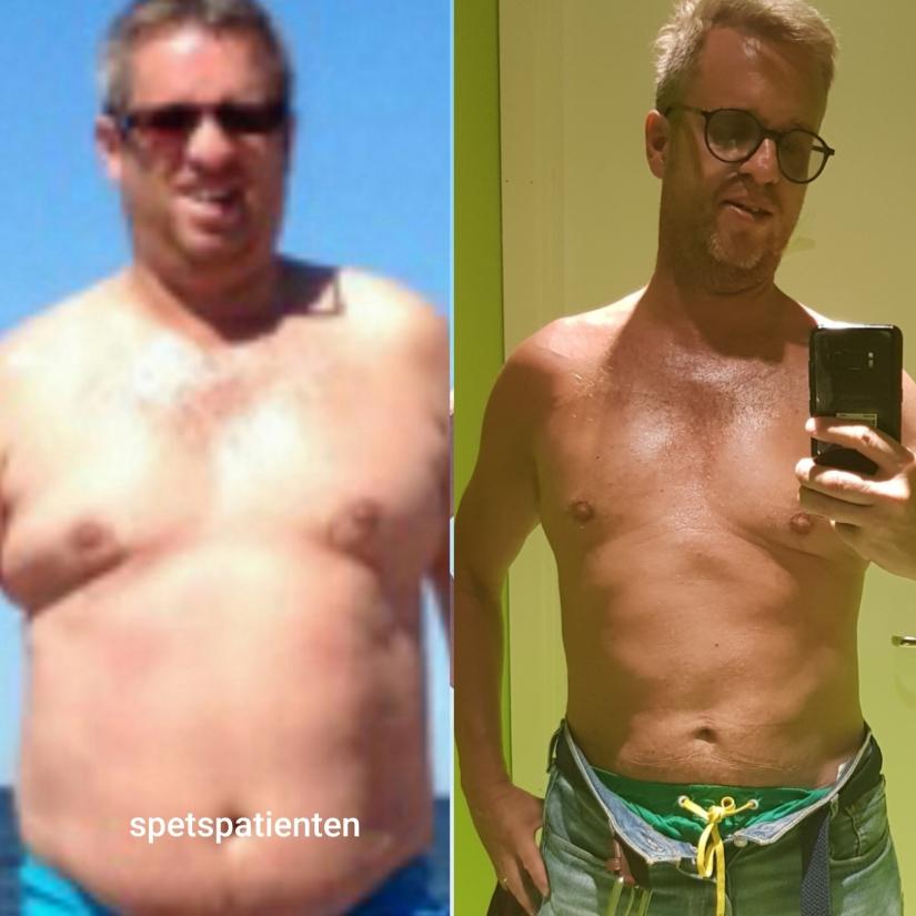 850 dagar med LCHF och det händer en hel del. – 24 cm och ca 20kg.